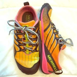 Merrell Barefoot Glove Vibram Shoes Women's 6.5